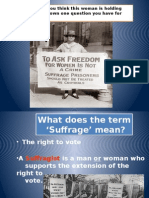 women suffrage power-pointcopy