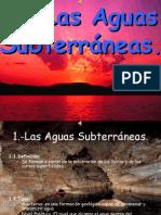 Aguas Subterráneas y su descripcion