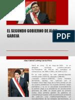 El Segundo Gobierno de Alan Garcia