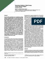 Estudios de Resonancia Magnética Nuclear 31P de Fosfatos de Alta Energía y PH en La Fatiga Muscular Humana. Comparativa de Ejercicio Aeróbico y Anaeróbico.
