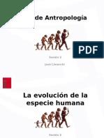 Ppt s 02 La Evolución de La Especie Humana