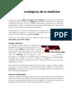 Avances Tecnológicos de La Medicina en El Perú