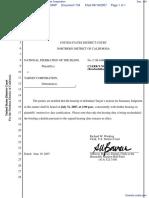 National Federation of the Blind et al v. Target Corporation - Document No. 134