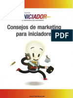 Consejos de Marketing a Iniciadores