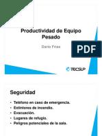 3.1 - Productividad de Tractor de Cadenas