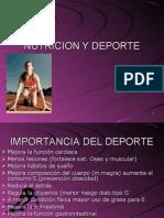 13 Sesion Nutricion y Deporte