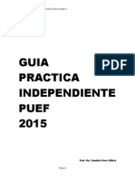Extra Practice Guide PUEF 2015