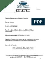 Teste Rele Pextron URPE 7104T Sub Sobretensao CE600X