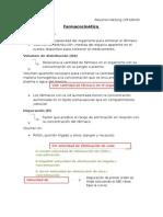 Resumen katzung farmacocinetica