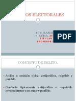 PPT Ramiro Salinas Delitos Electorales