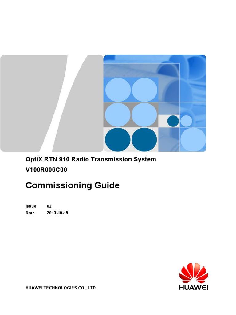Huawei optix rtn 950 integrated microwave transmission equipment.
