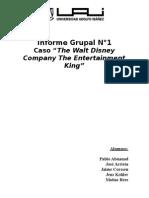 Caso the Walt Disney Company the Entertainment King
