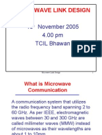 TCIL 17 Microwave Link Design