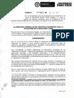 Resolución 000503 de 2014 Icfes