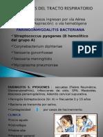 1. Sinusitis, Otitis, Faringoamigdalitis.