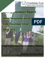 GVI Fiji Donation Report - Stelly's School 2015