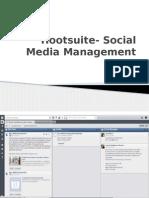 Hootsuite- Social Media Management