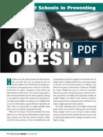 Roleofschools Obesity