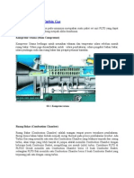 Komponen Utama Turbin Gas
