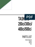 TASKalfa250ci 300ci 400ci 500ci PartList