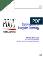 ExploringIBMDB2 EncryptionTechnology Marcin BasterIBM POLSKA