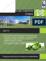 Certificado Industria Limpia