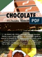 Chocolate en peligro de extinción