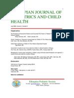 Ethiopian Journal Pediatric