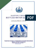 Bottled Water Jan-March 2015