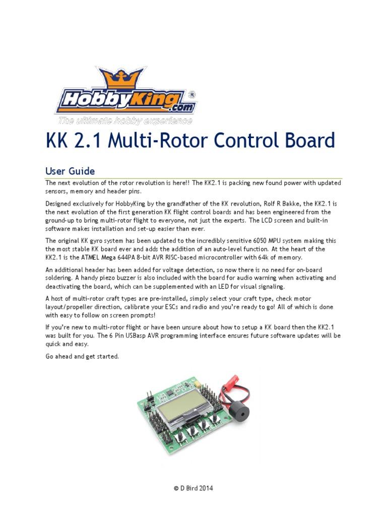 Kk21 Man Aircraft Flight Control System Aileron Kk2 Wiring Diagram