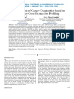 A Classification of Cancer Diagnostics based on Microarray Gene Expression Profiling
