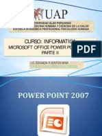 Power Point 2007 Parte II - Psicologia