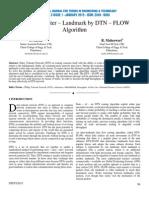 Optimized Inter – Landmark by DTN – FLOW Algorithm