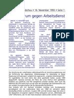 1993-11-16_FR_NEUES FORUM gegen Arbeitsdienst
