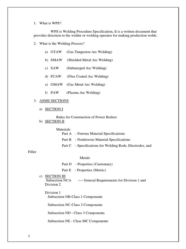 Interview Questions For Qaqc Mechanical Welding Magnetic Field Electrical Wiring And Answers