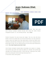Pengalaman Sukses Diet Melalui OCD