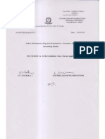 Osmania University MBA III Sem Recounting Results