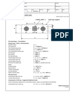 Pile CAP Design Example + 2 piles