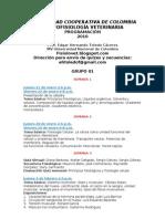 Programación 2010A Fisiología Grupo 01