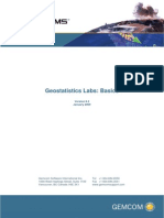 GEMS Geostats Labs1 Basics
