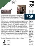 Eva Sajovic - press release 2 on 2010 exhibition