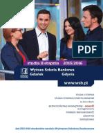 Informator 2015 - studia II stopnia - Wyższa Szkoła Bankowa w Gdańsku.pdf