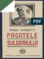 Radu Rosetti - Păcatele Sulgeriului - 1924 [Gray]