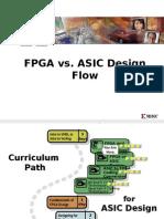 Fpga vs Asic Design Flow