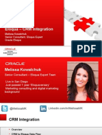 CRM Integration 20131212