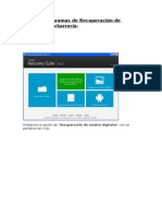 Análisis Programas de Recuperación Archivos