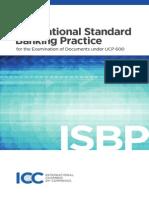 Icc International Standard Banking Practise