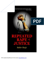 Repeated Rape of Justice