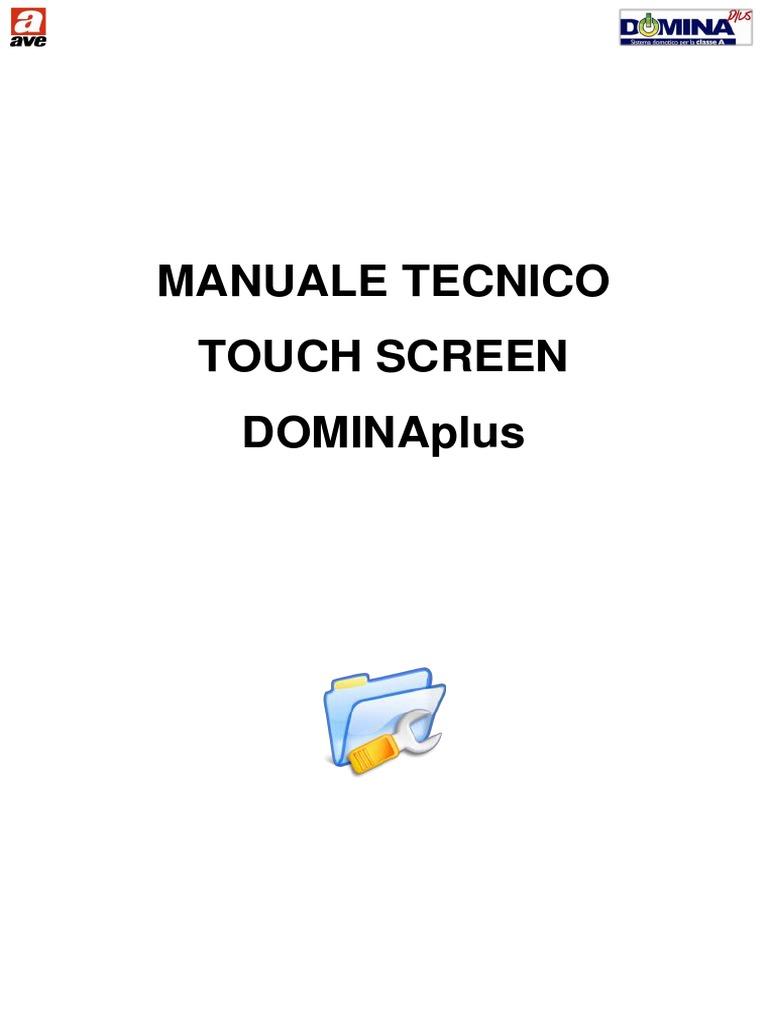 Schema Cablaggio Rete Lan : Manuale touchscreen