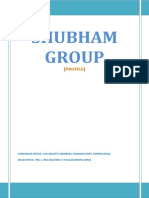 Shubham Group - Profile